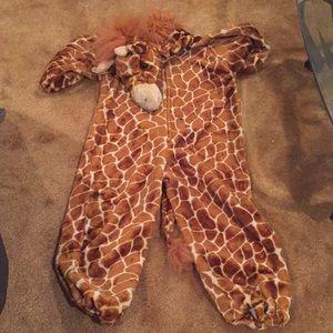 Children's giraffe costume